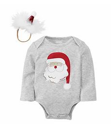 Santa Bodysuit and Headband