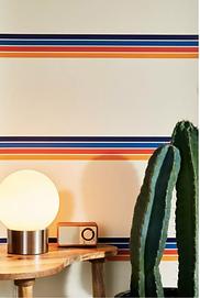 Retro Stripe Wallpaper