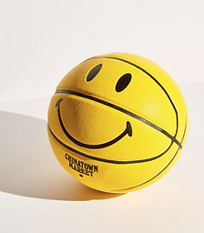 X Smiley Basketball
