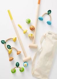 Kids Backyard Croquet Set