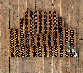 Running Leaves Doormat