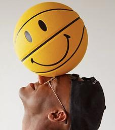 X Smiley Basketball