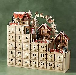 Village Advent Calendar