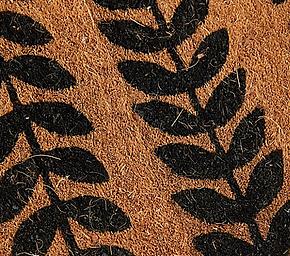 Running Leaves Doormat