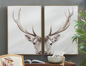 Davis The  Deer Art