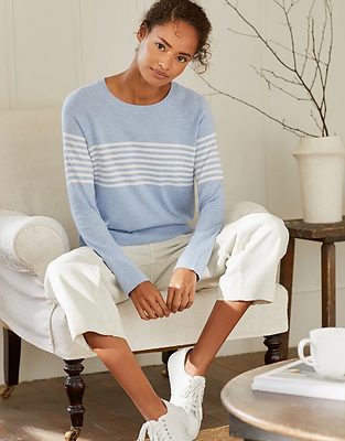 Cotton Rich Stripe Sweater