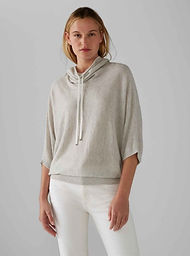 Funnel Neck Cashmere Sweater