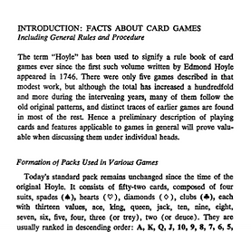 Book of Card Game Rules