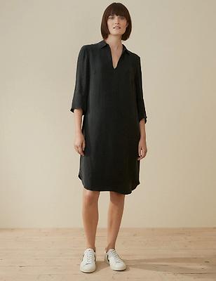 Soft Tenecel Shirt Dress