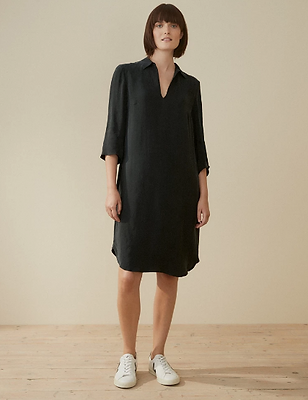 Soft Tenecel Shirt Dress