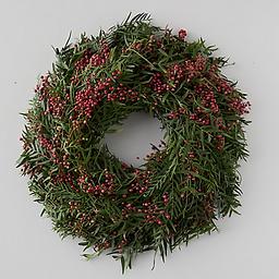 Fresh Pepperberry Wreath