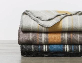 Wool Diablo Throw Blanket