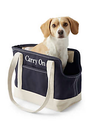 Canvas Tote Pet Carrier