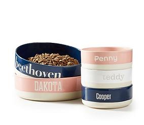 Personalized Ceramic Food Dish