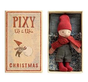 Pixy Elf In Matchbox