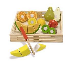 Wooden Cutting Fruit Set