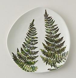 Ceramic Fern Plate