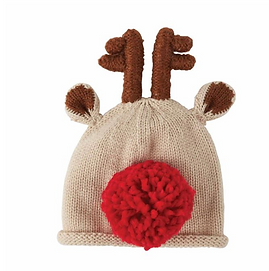 Knit Reindeer Hat