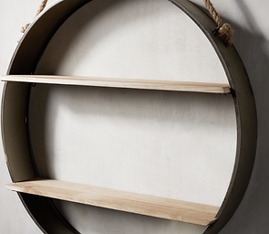 Circle Wall Shelf