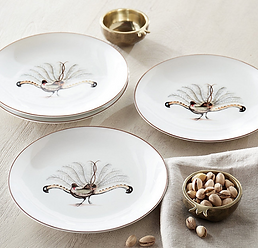 Pheasant Accent Plate