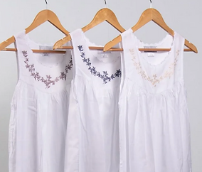 Embroidered Nightgown