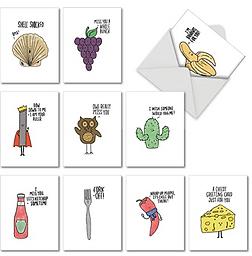 Fun Pun Note Cards