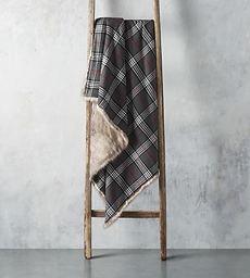 Tartan Reversible Throw