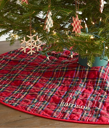 Classic Plaid Tree Skirt