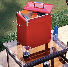 Retro Drink Cooler