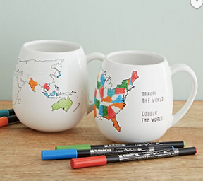 Color Map Mug