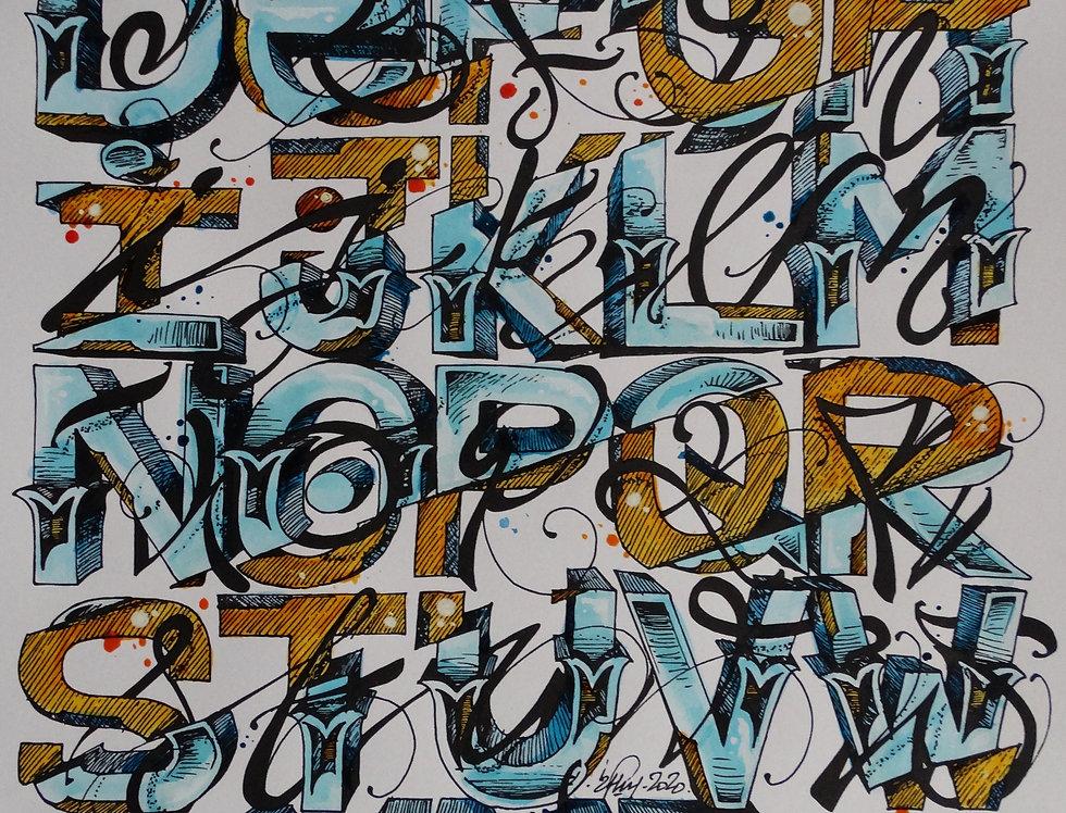 2flui - Alphabet
