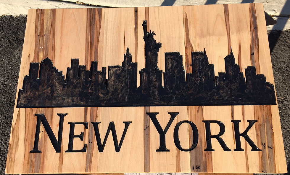 NYC Skyline Wall Art