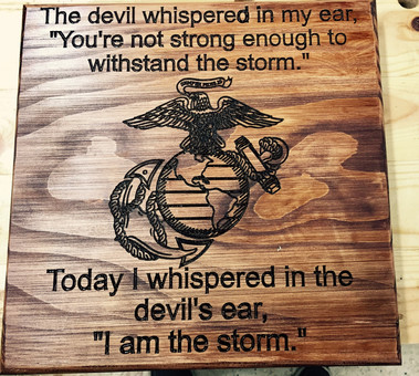 I Am The Storm - USMC
