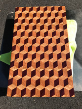 qBert Style Cutting Board