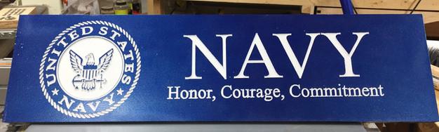 Navy sign
