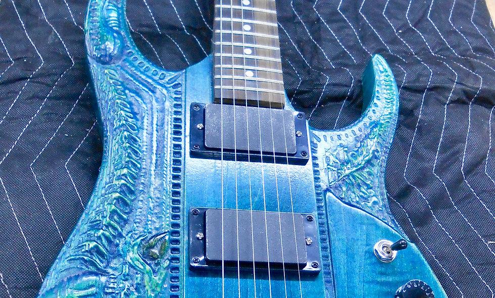 Custom Made Alien Guitar