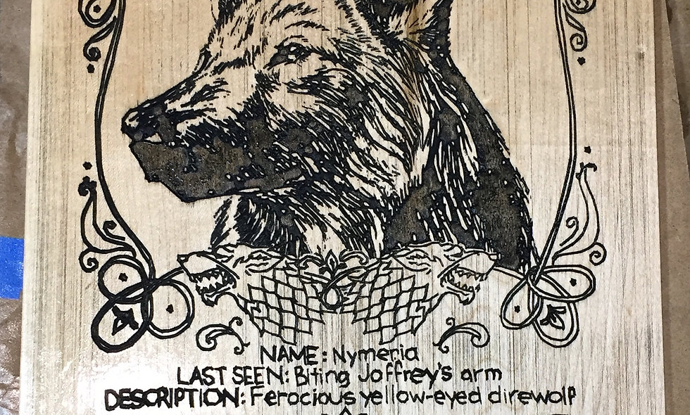 Game of Thrones Wolf Sign
