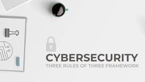CYBERSECURITY - 3 Rules of 3