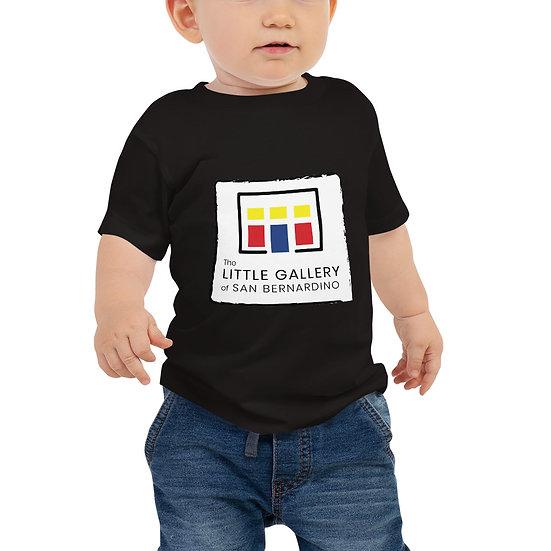 The Little Gallery of San Bernardino Logo Baby Jersey Short Sleeve Tee