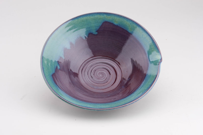 Matthew Taira Dickerson - Purple and green bowl