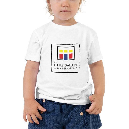 The Little Gallery of San Bernardino Logo Toddler Short Sleeve Tee