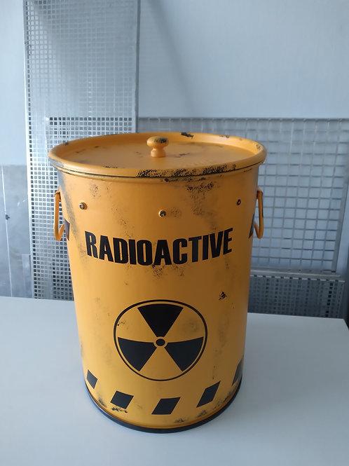 Lixeira PP Radioactive com puxador