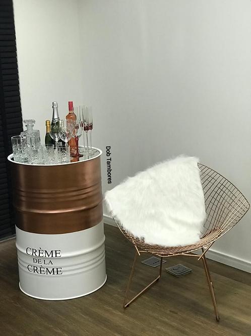 Tambor Decorativo Crème de La Crème -  Tamanho G