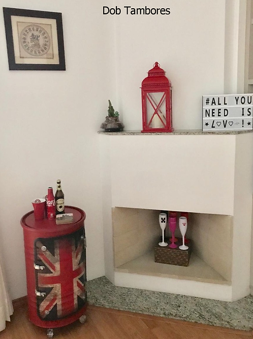 Tambor armário M Frisado Reino Unido