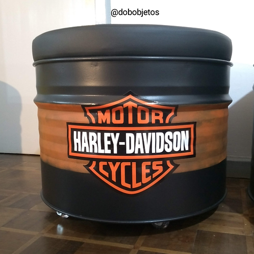 Tambor Puff Harley Davidson