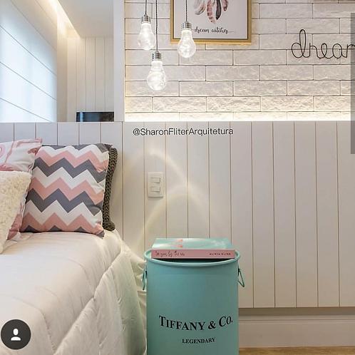 Tonel decorado Tiffany & Co