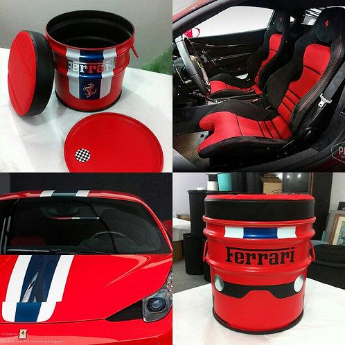 Tambor Personalizado Ferrari - PP - Puff