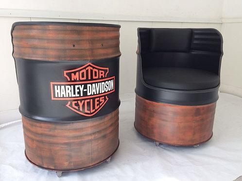 Tambor Poltrona Harley Davidson G