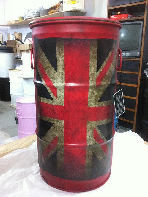 Barril Decorativo Reino Unido  - P com Alças
