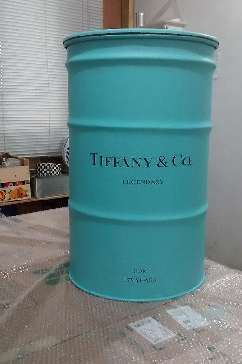 Tambor Decorado Tiffany & Co - Tamanho MG